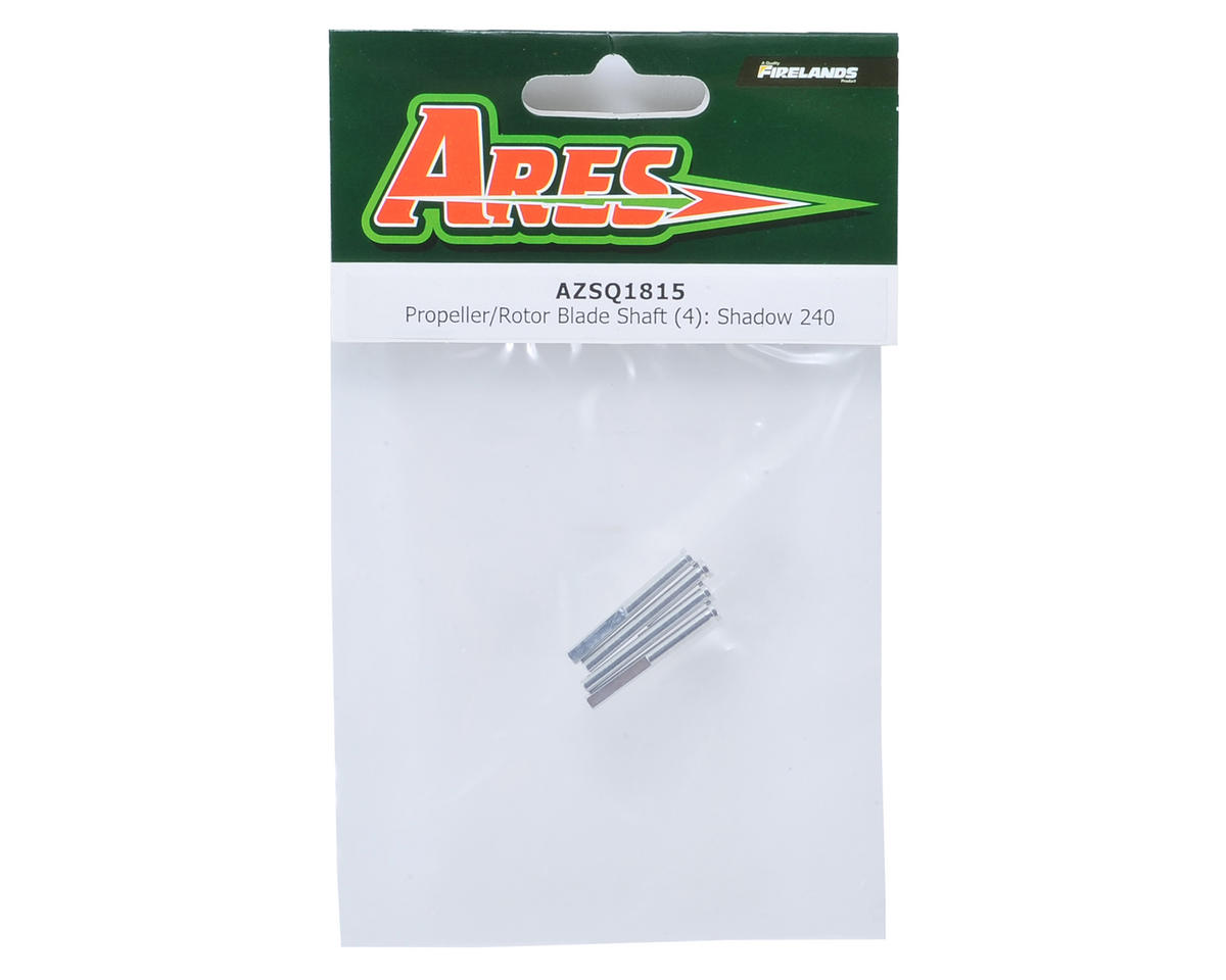 Ares RC Rotor Blade Shaft (4) (Shadow 240)