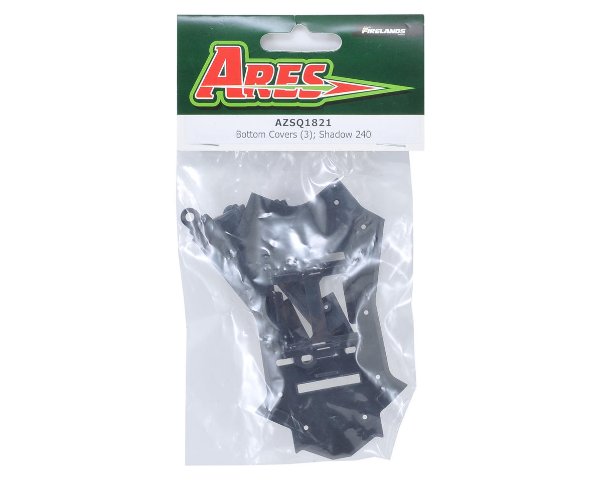 Ares RC Shadow 240 Bottom Covers (3)