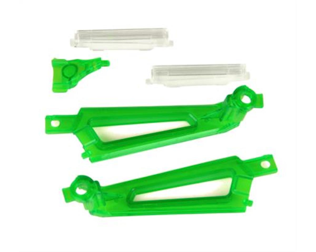 Ares Shadow 240 AZSQ1822GR Light Covers, Green (3) & White (2pcs):