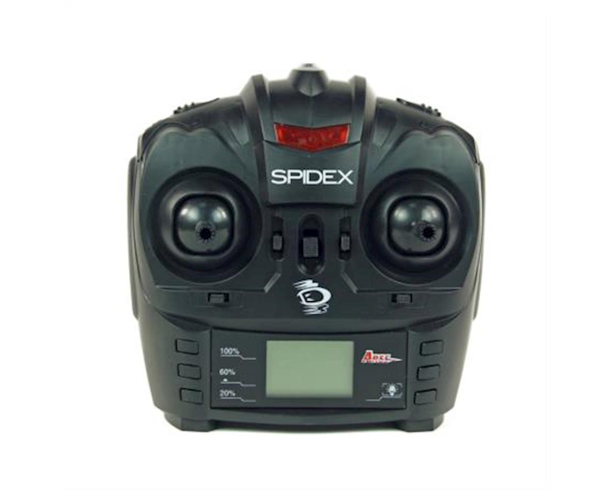Ares AZSQ1908 4-Channel 2.4GHz Quadcopter Transmitter: Spidex 3D