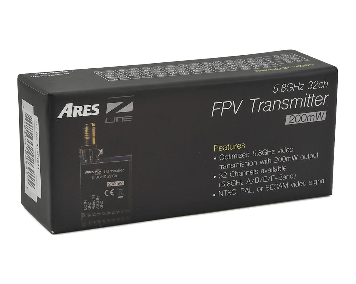 Ares 5.8GHz 32CH 200mW FPV Video Transmitter (RP-SMA)