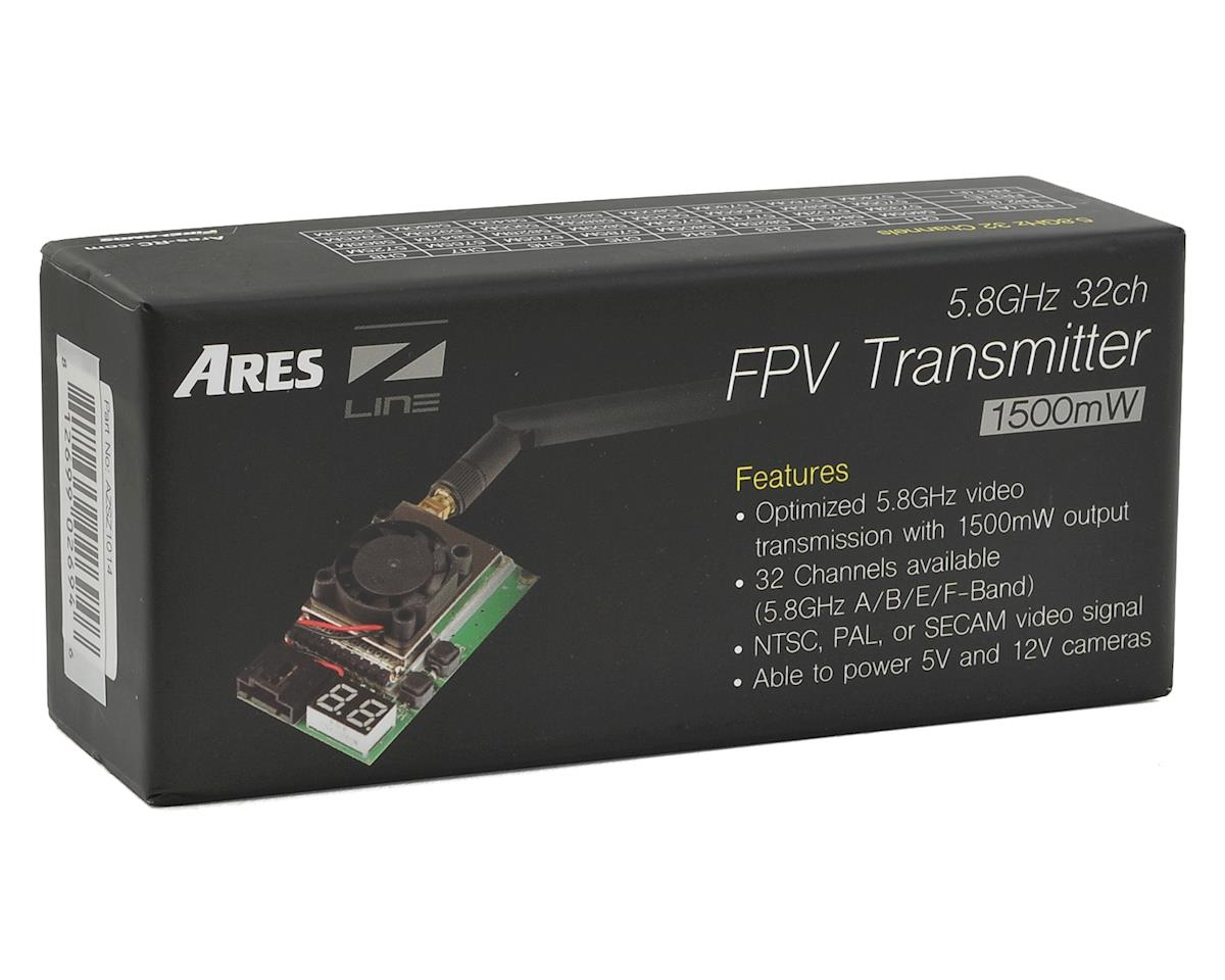 Ares RC 5.8GHz 32CH 1500mW FPV Video Transmitter (RP-SMA)