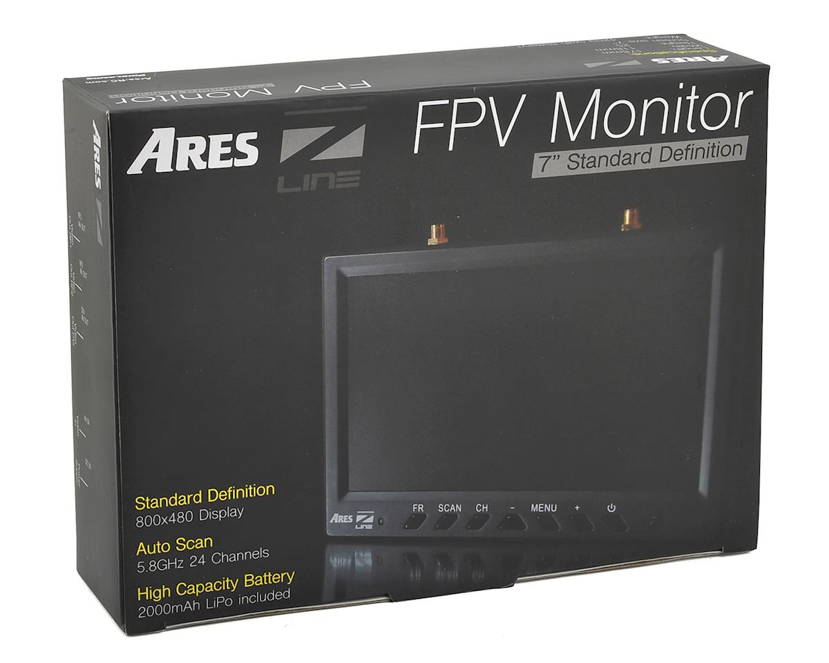 "Ares 5.8GHz 24CH 7"" FPV Monitor w/Diversity"