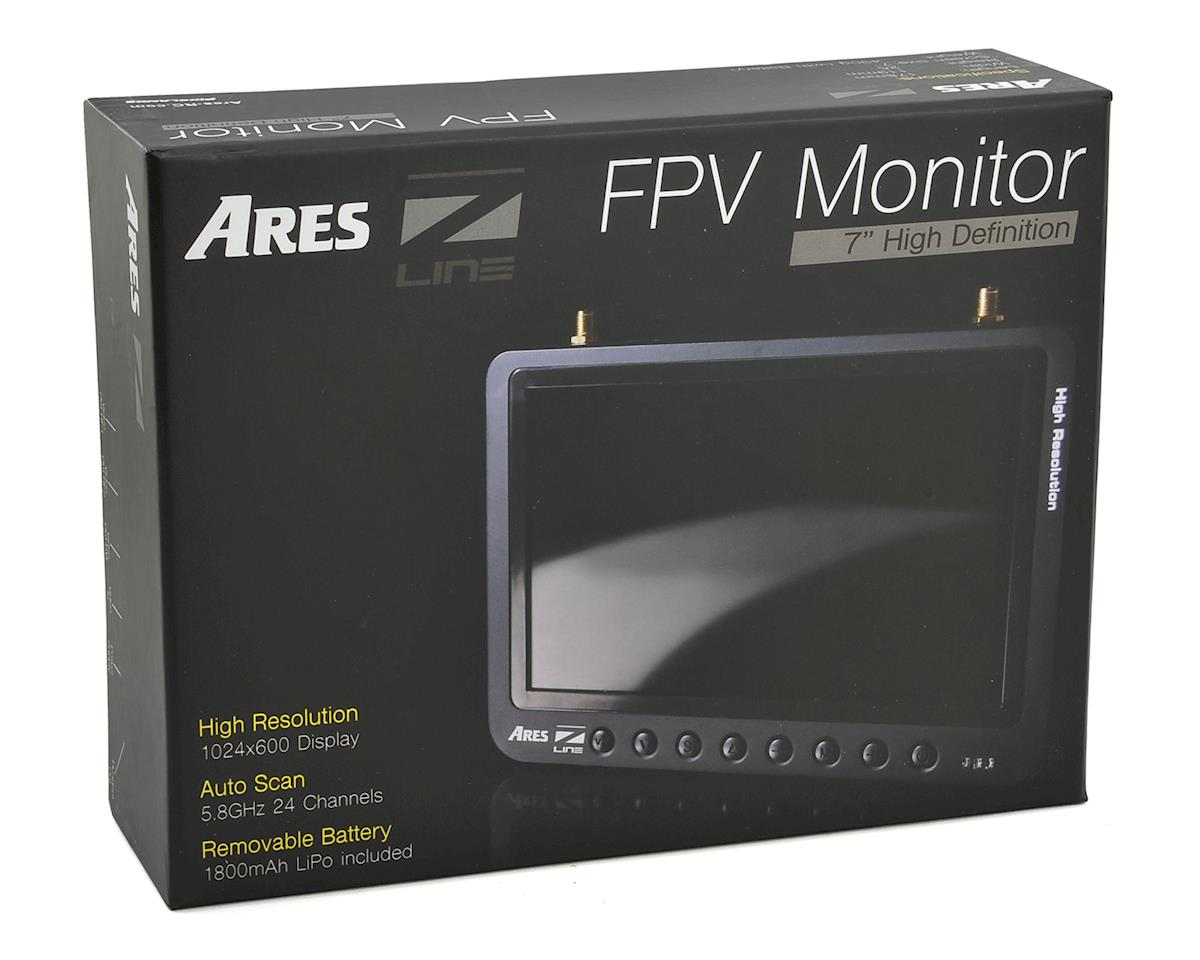 "Ares 5.8GHz 24CH 7"" High Definition FPV Monitor w/Diversity"