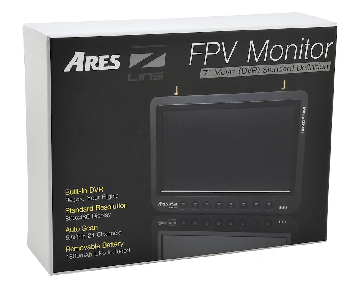 "Ares 5.8GHz 24CH 7"" FPV Monitor w/Diversity & DVR"
