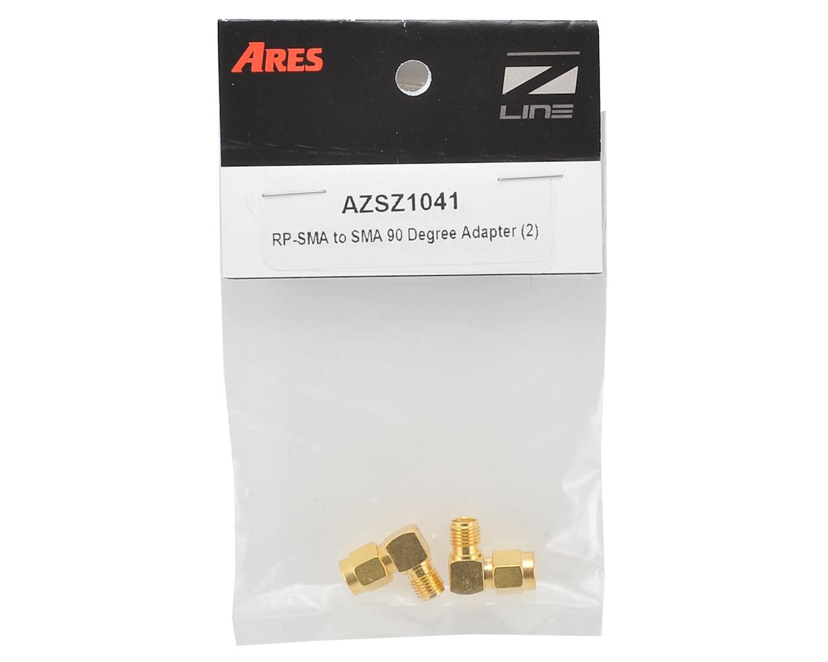Ares RP-SMA to SMA 90 Degree Adapter (2)