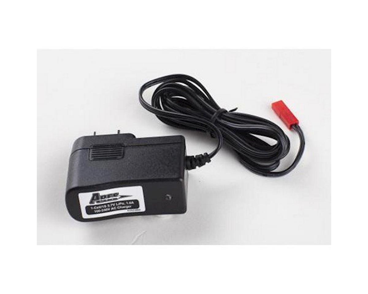 Ares AC Charger, 1-Cell/1S 3.7V LiPo, 1.0A 100-240V, JST Connector (Exera 130 CX)