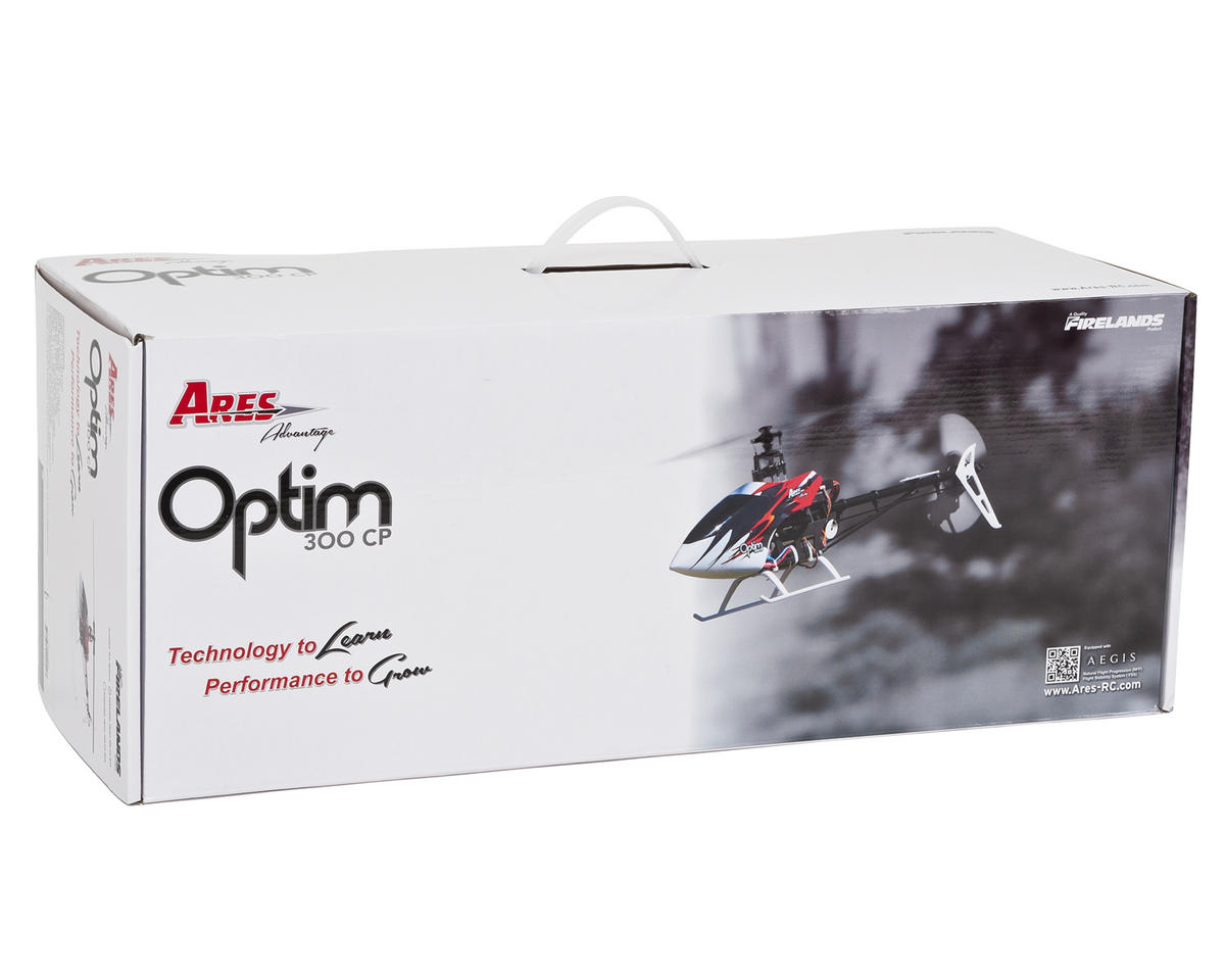 Ares RC Optim 300 CP Collective Pitch Helicopter RTF