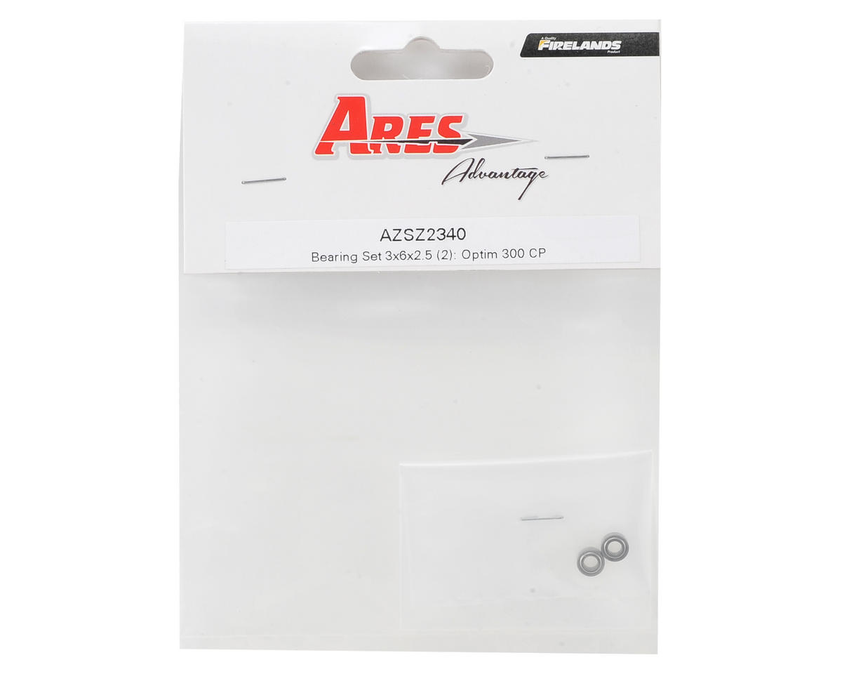 3x6x2.5mm Bearing (2) (Optim 300 CP) by Ares