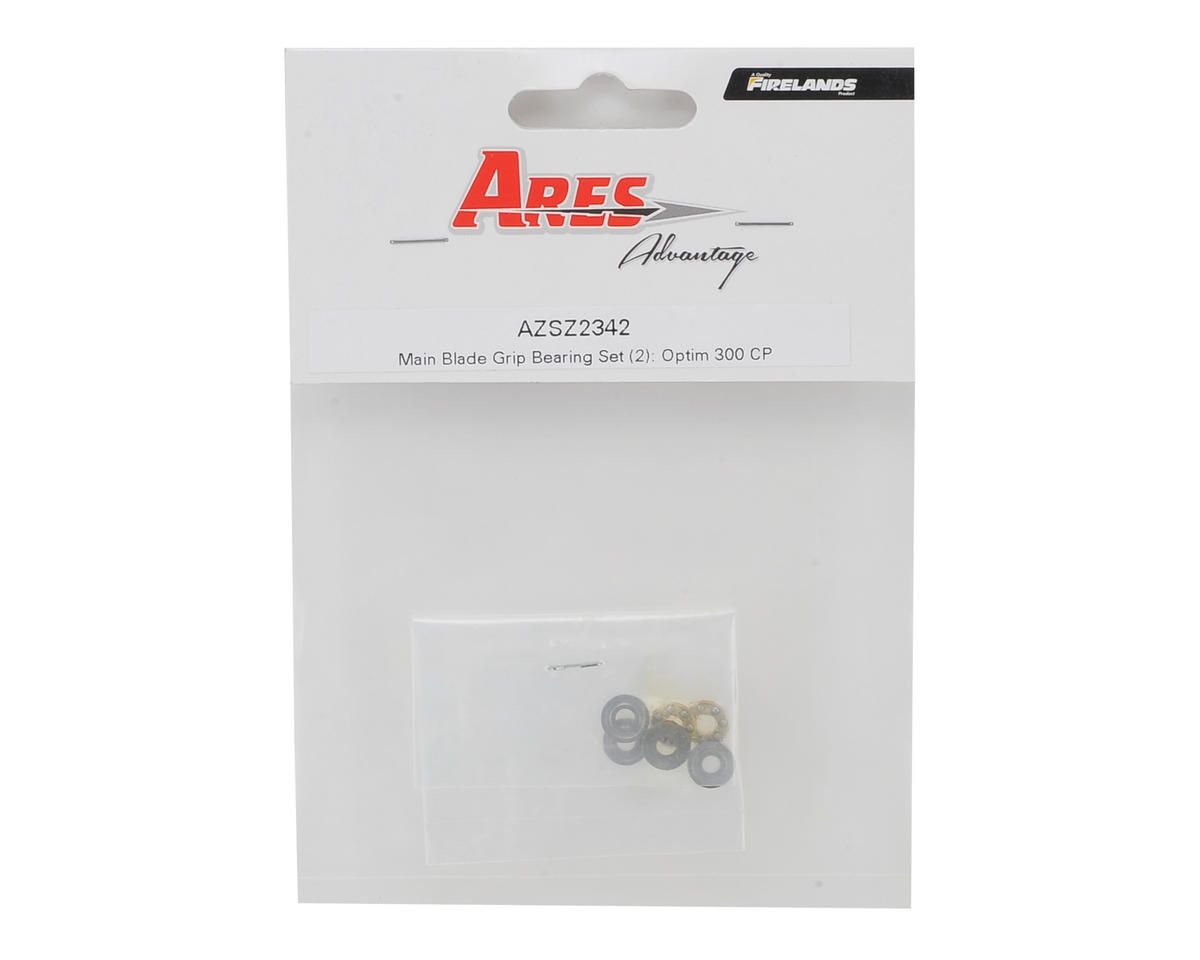 Ares RC Main Blade Grip Bearing Set (2) (Optim 300 CP)