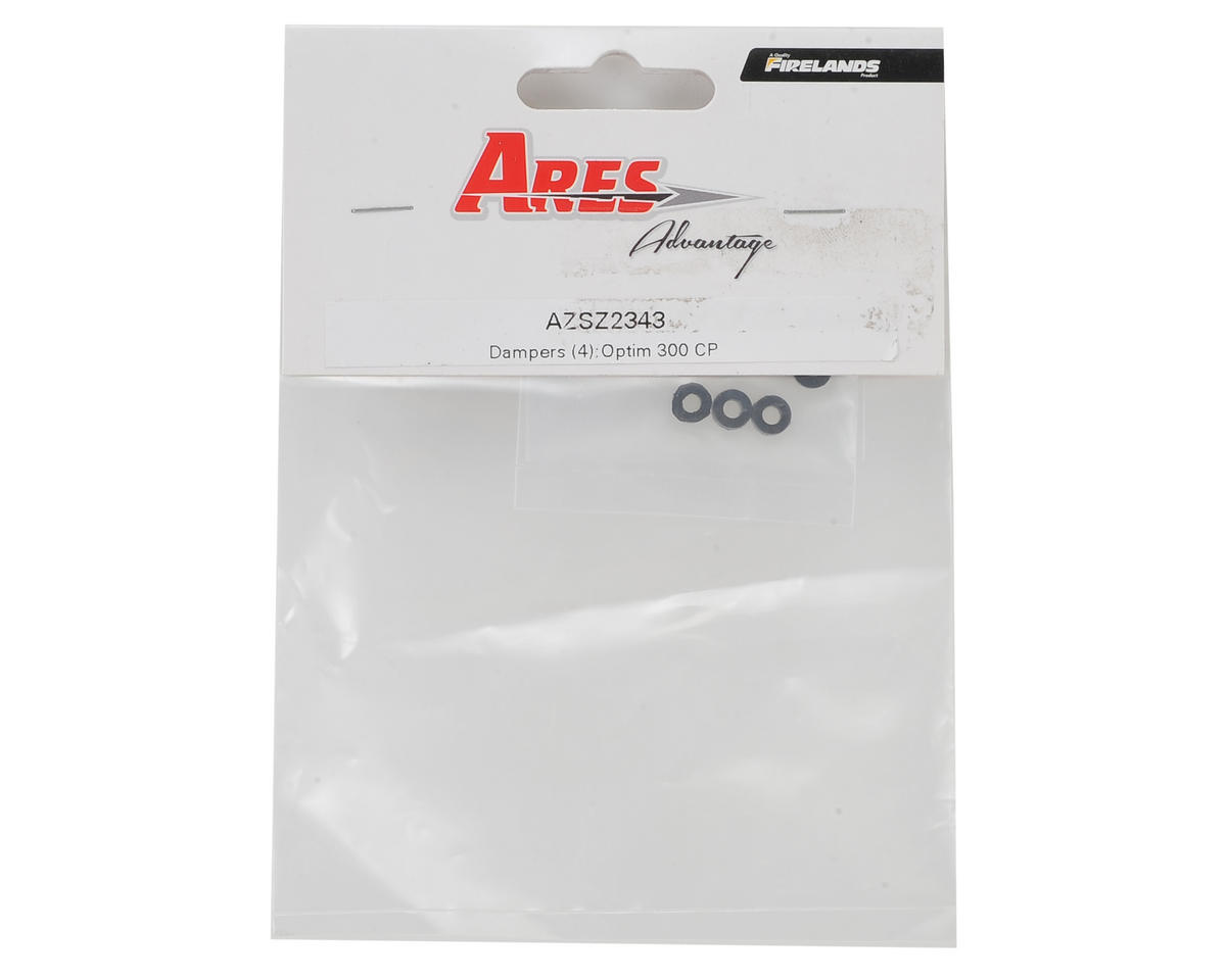 Ares Rubber Damper (4) (Optim 300 CP)