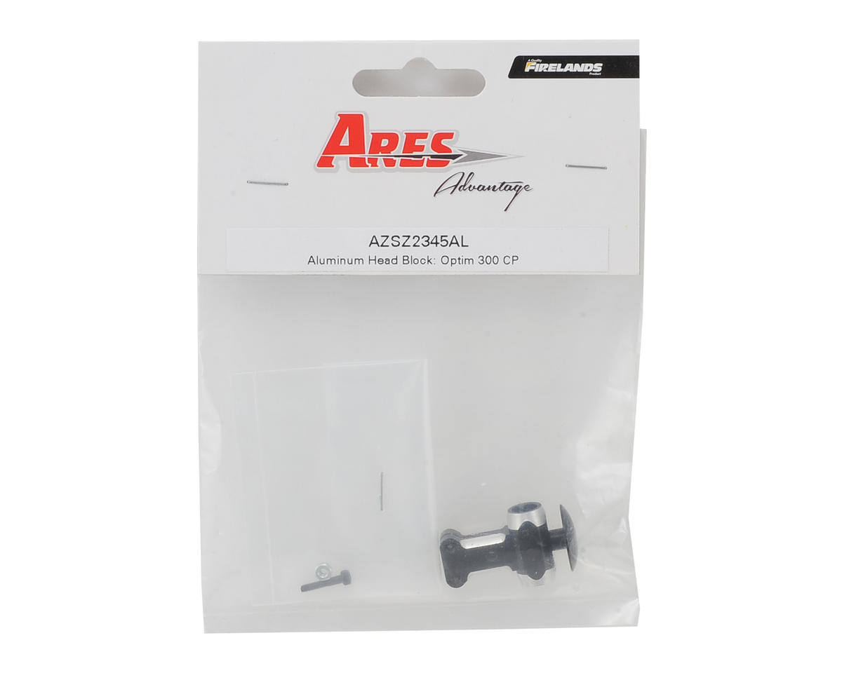 Ares RC Aluminum Head Block (Optim 300 CP)