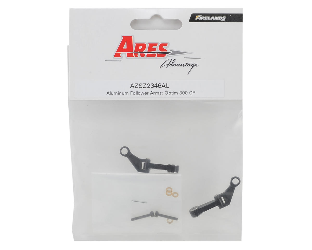 Ares RC Aluminum Follower Arm Set (Optim 300 CP)