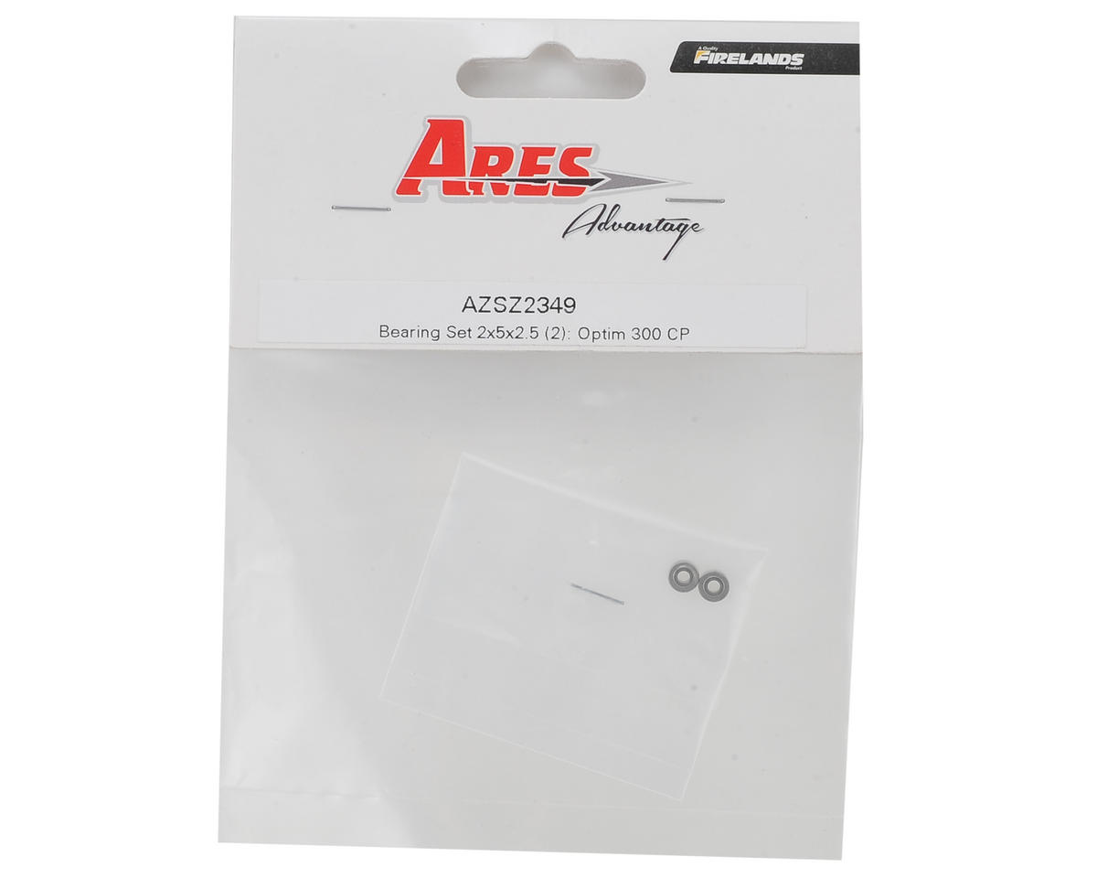 Ares 2x5x2.5mm Bearing (2) (Optim 300 CP)