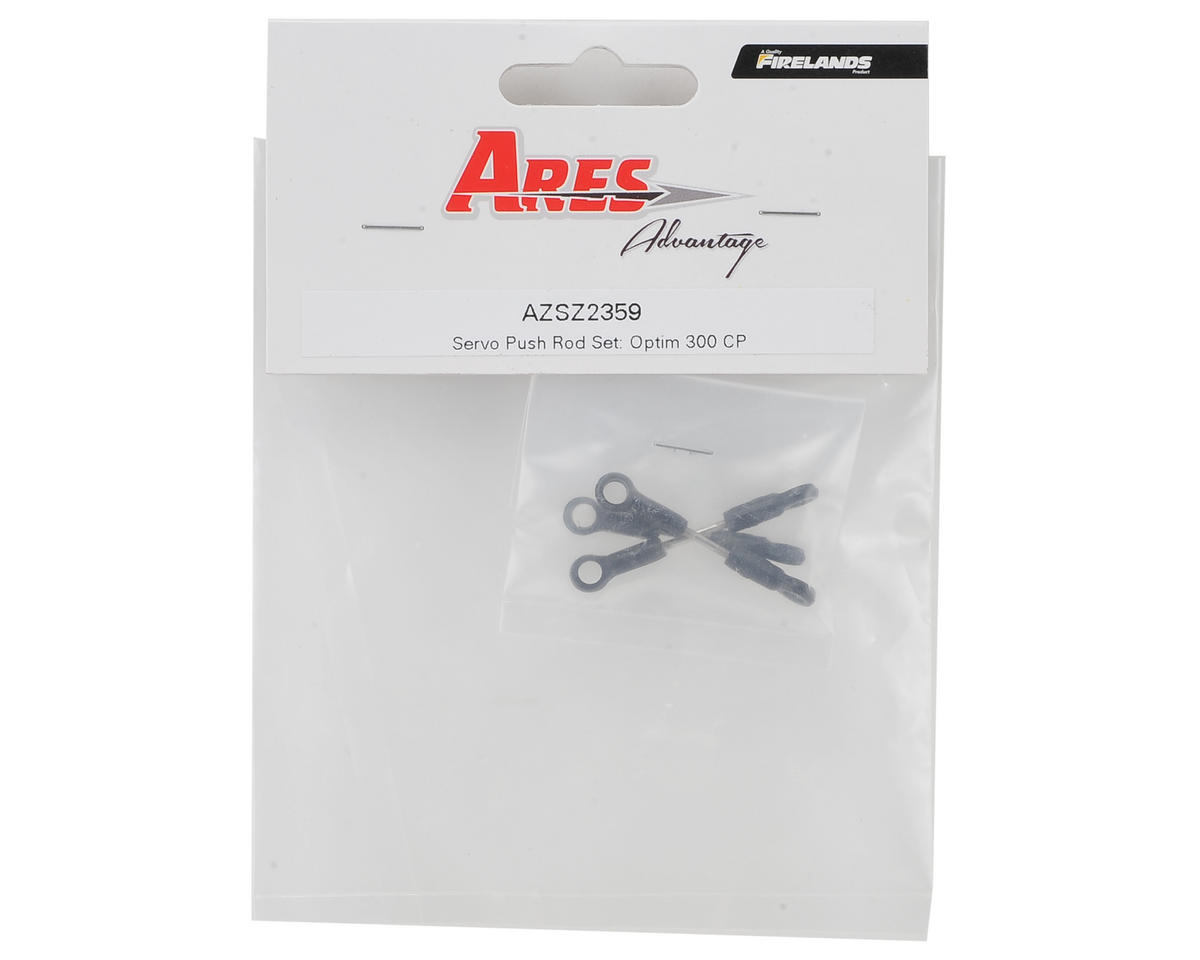 Ares RC Servo Push Rod Set (Optim 300 CP)