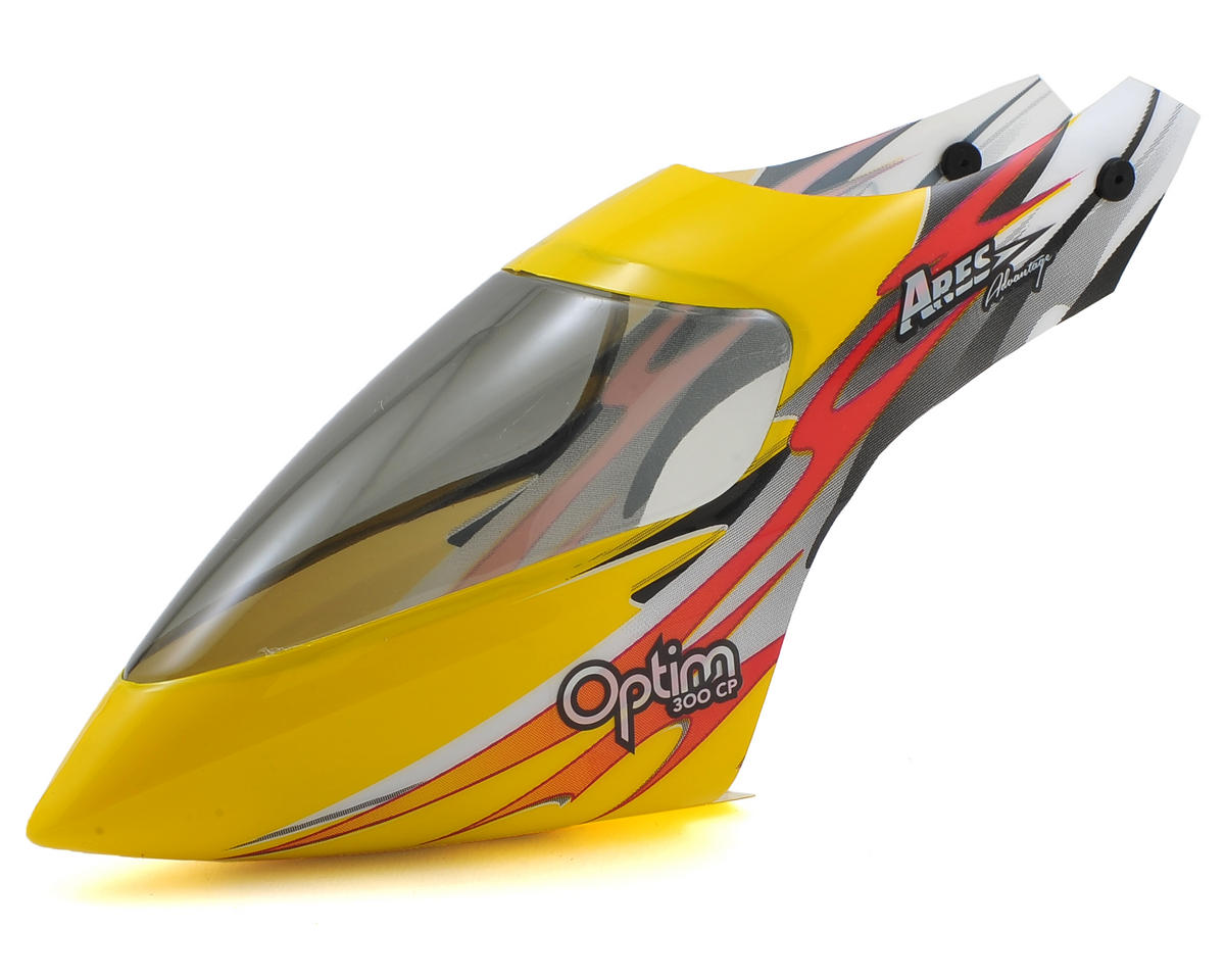 Ares RC Canopy (Yellow) (Optim 300 CP)