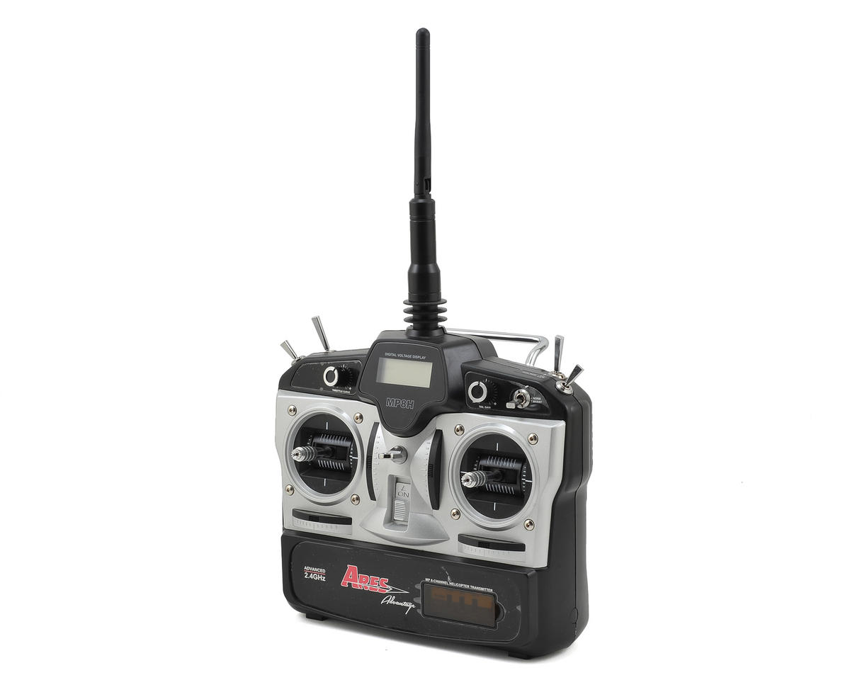 Ares Optim 300 MP8H 8-Channel Helicopter Transmitter (Mode 2) (Optim CP)
