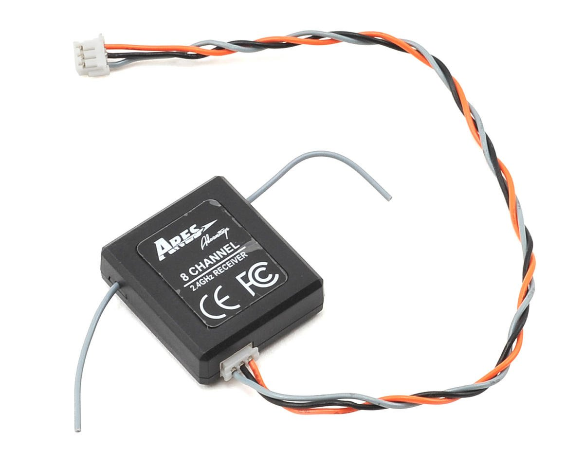 Ares RC 2.4GHz 6-Channel FHSS Receiver (Optim 300 CP)