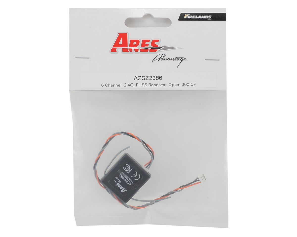 Ares 2.4GHz 6-Channel FHSS Receiver (Optim 300 CP)