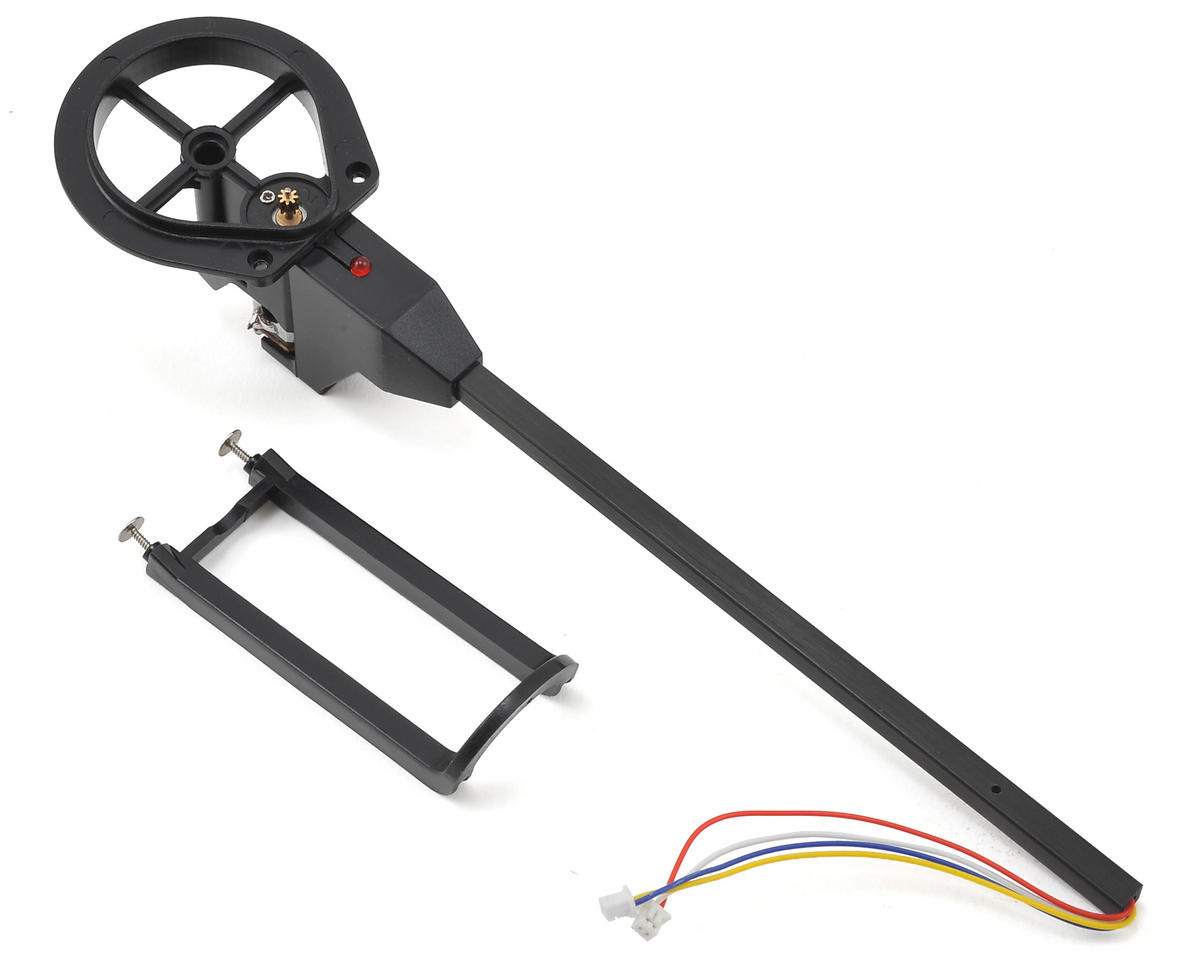 Ares RC Wired Boom Assembly w/Red LED (CW) (Ethos HD/FPV)