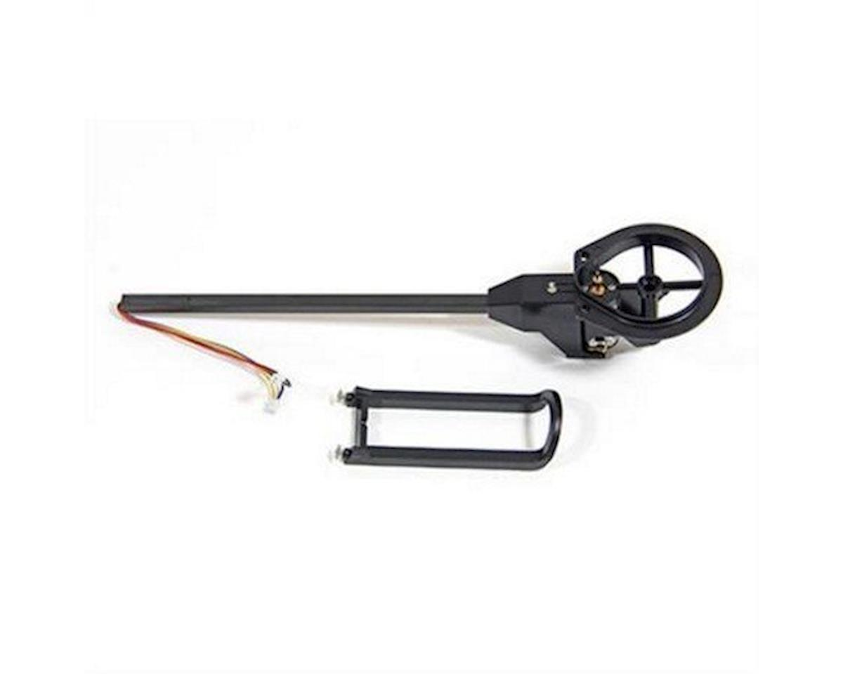 Ares Wired Boom Assembly with White LED, Counter Clockwise Motor (Ethos HD/FPV)