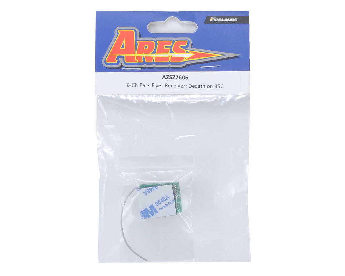 Ares RC 6-Channel Park Flyer Receiver (Decathlon 350)