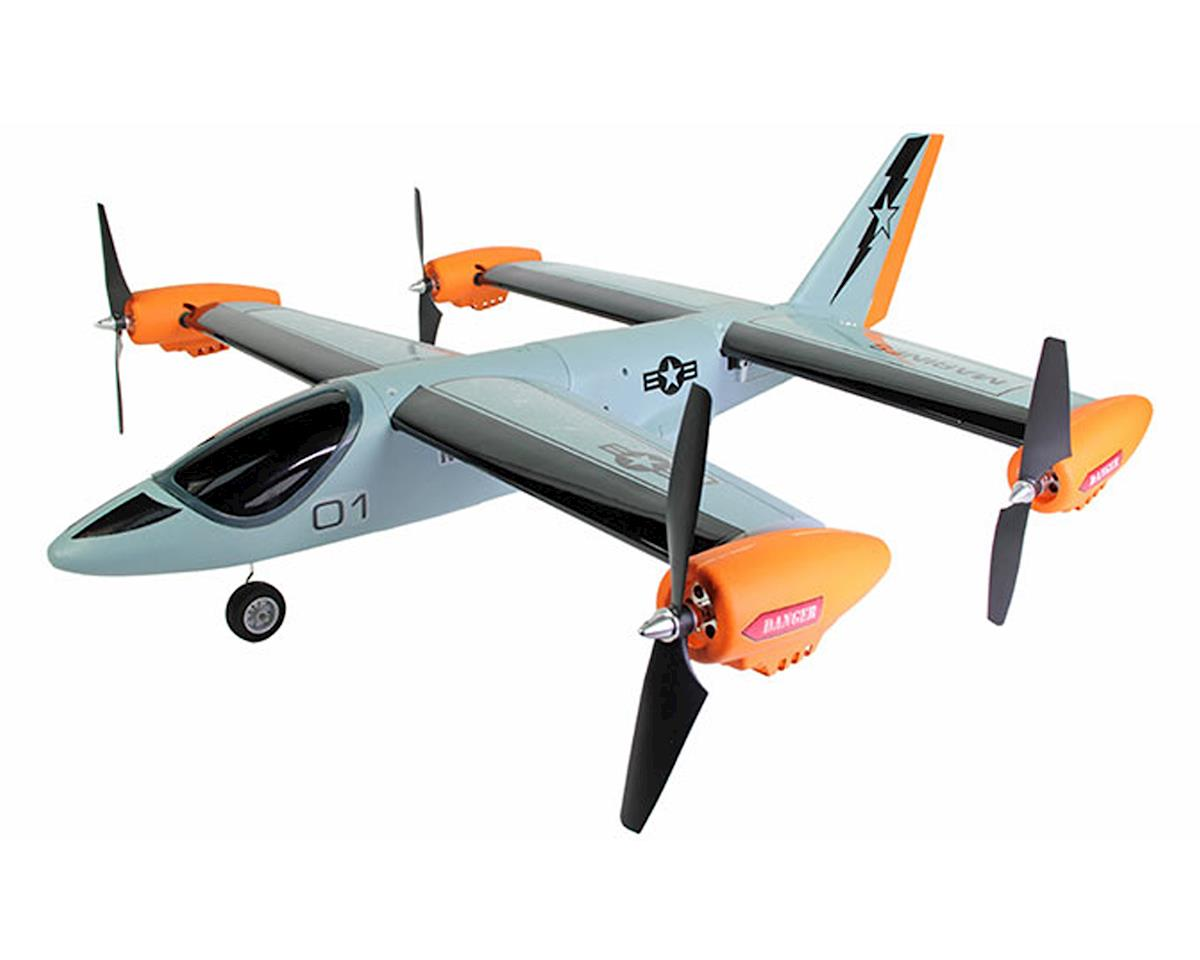 Ares RC V-Hawk X4 RTF Vertical Take Off (VTOL) Airplane/Drone