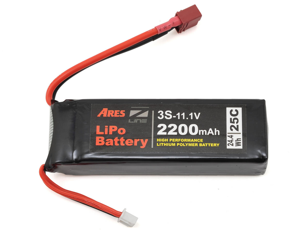 Ares Crossfire RC 3S 25C LiPo Battery (11.1V/2200mAh) (Crossfire)