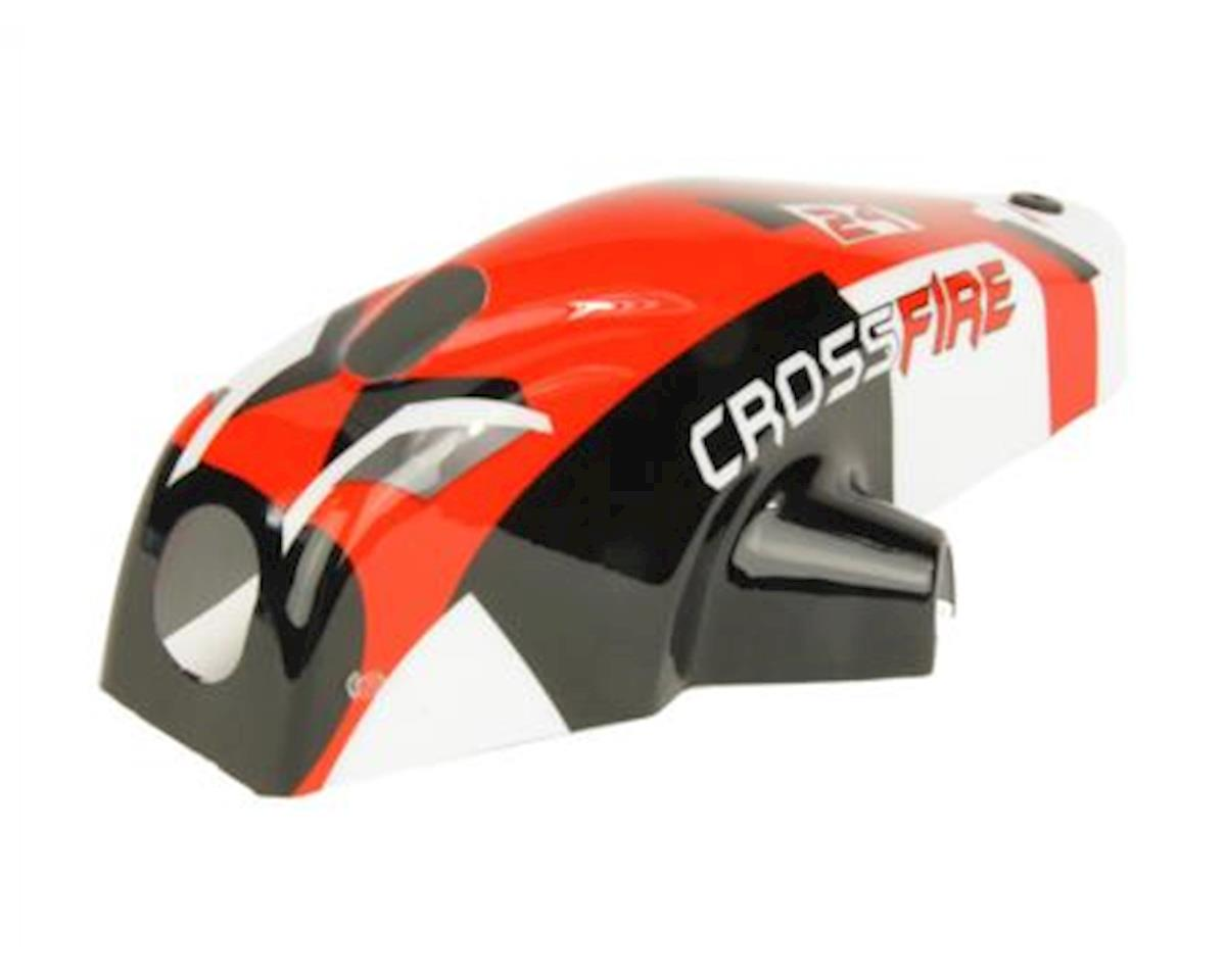 Ares Crossfire RC Replacement Canopy (Red) (Crossfire)