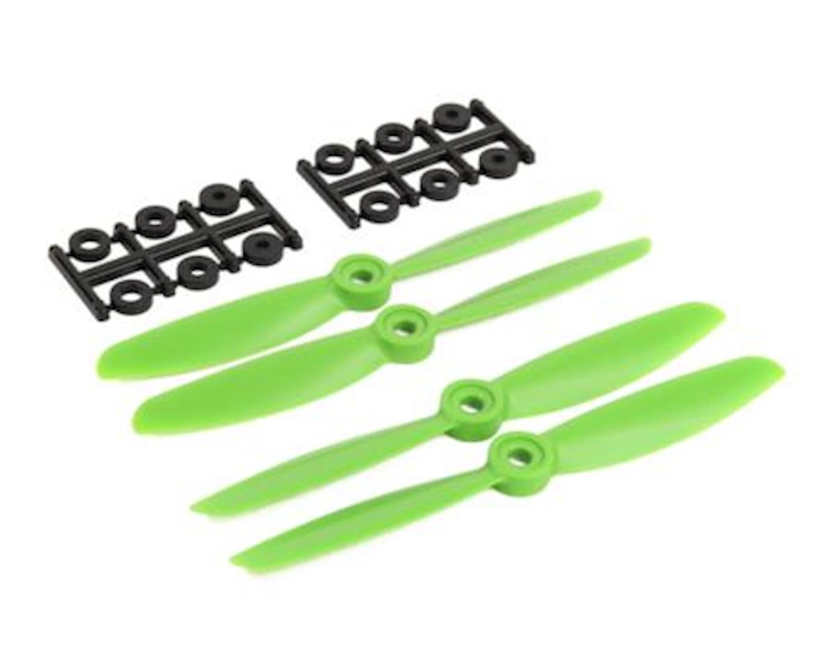 5x4.5 Green Prop Set (4) (X:Bolt) by Ares