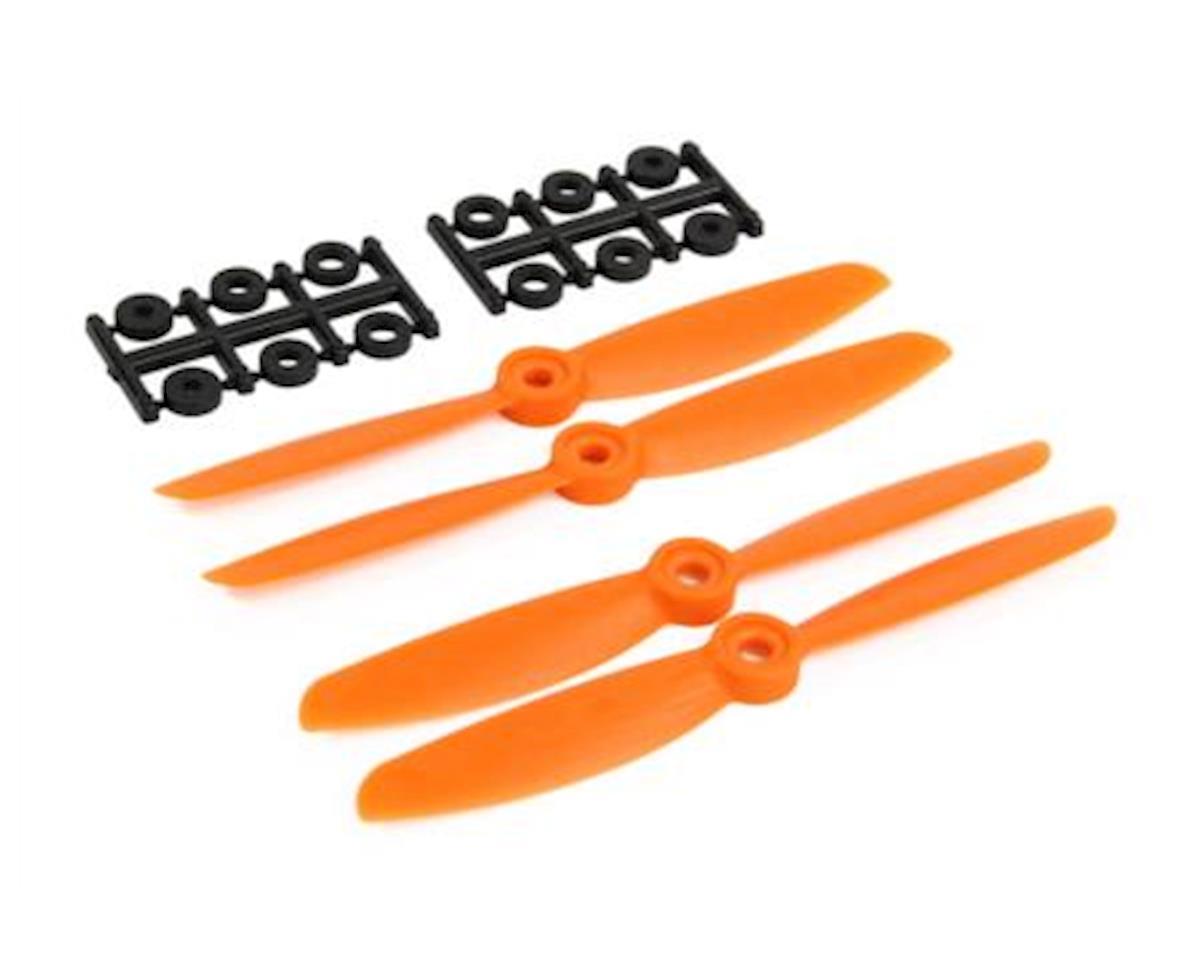 Ares X-bolt 5x4.5 Orange Prop Set (4) (X:Bolt)