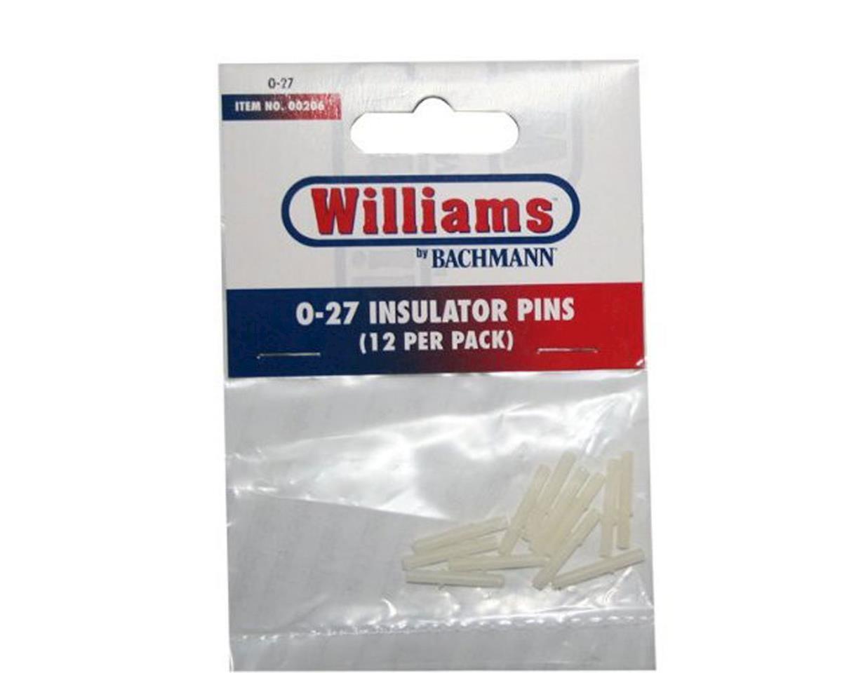 O-27 E-Z Street Insulator Pins (12) by Bachmann