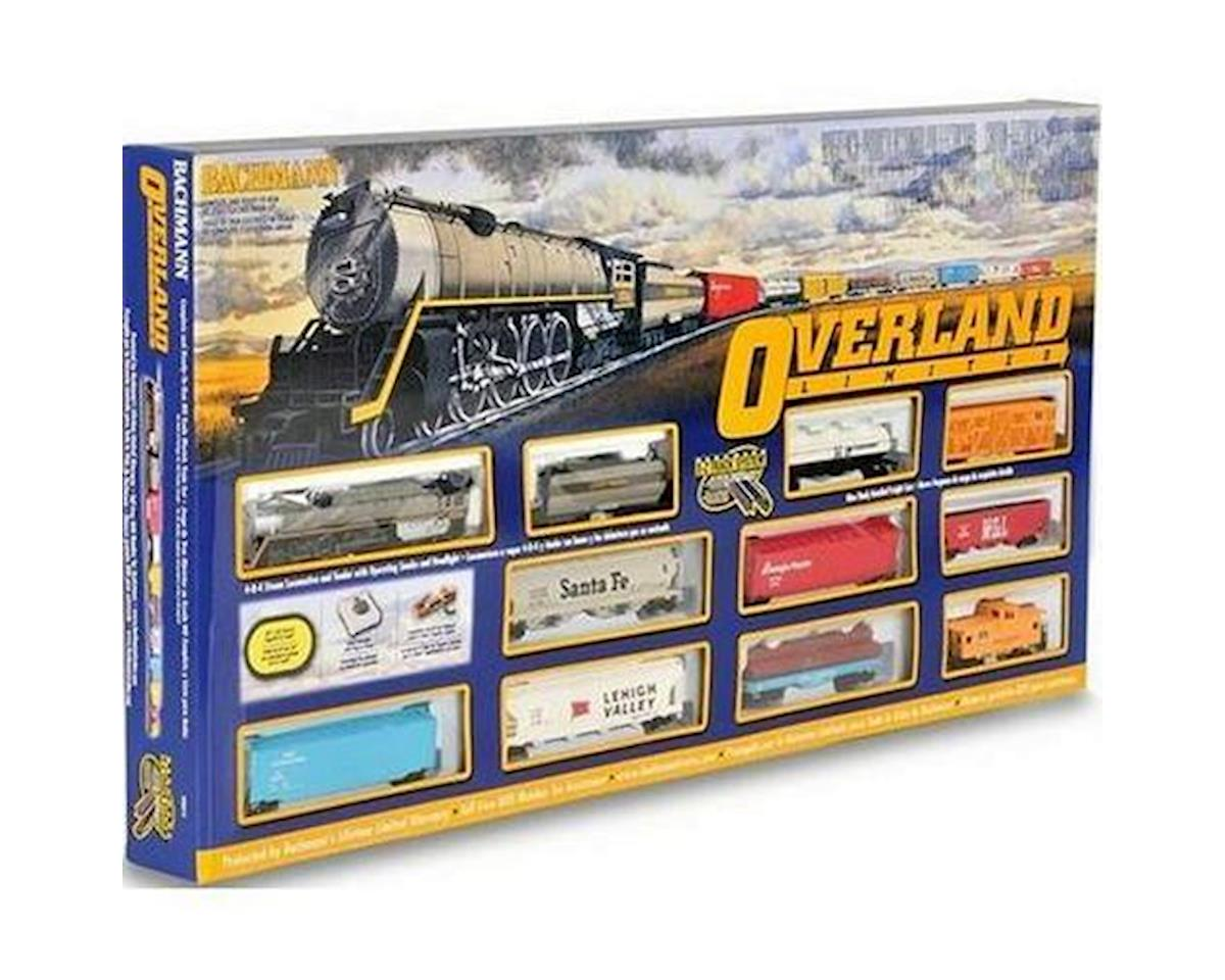 HO-Scale Overland Limited Train Set (Union Pacific) by Bachmann