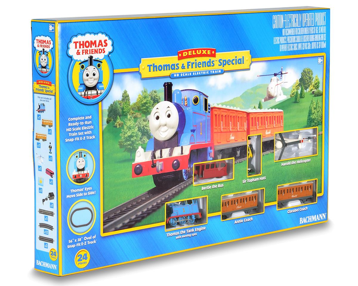 "HO-Scale ""Deluxe"" Thomas the Tank Engine Train Set by Bachmann"