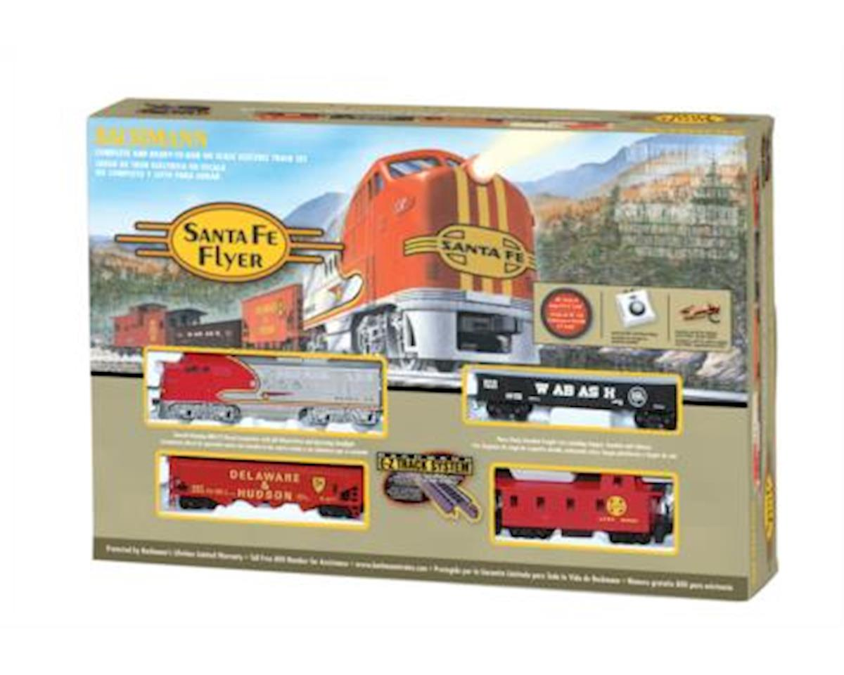 HO Santa Fe Flyer Train Set, SF by Bachmann