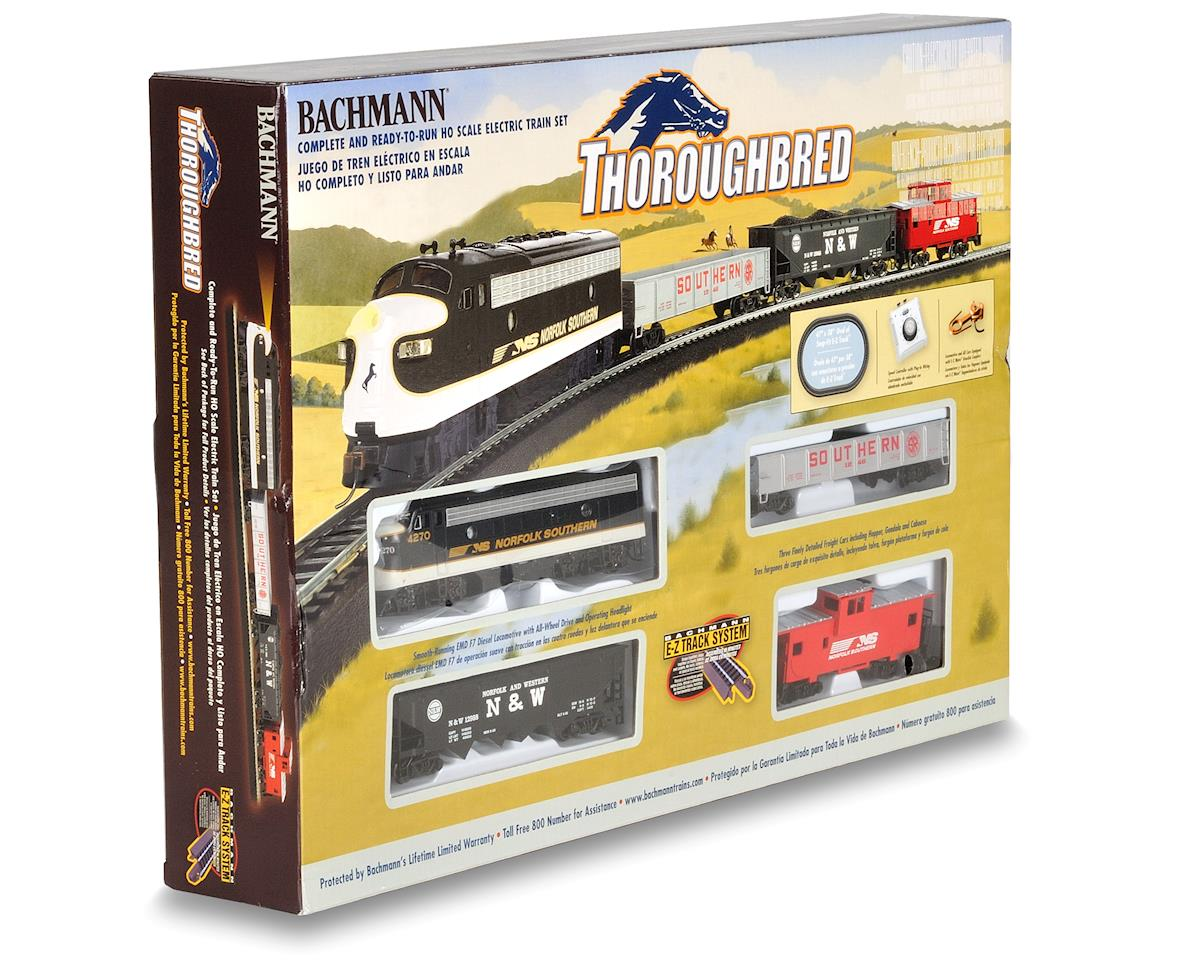 Bachmann HO-Scale Thoroughbred Train Set (Norfolk Southern)