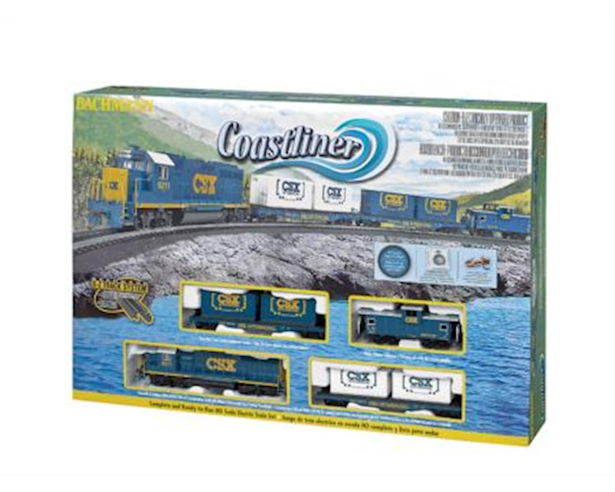HO COASTLINER SET W EZTRK by Bachmann