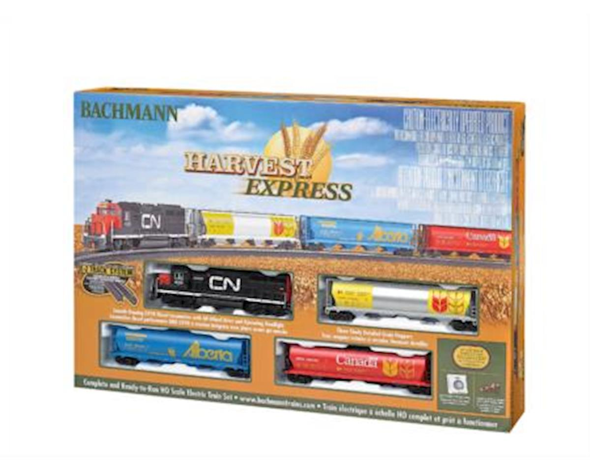HO HARVEST EXP SET W EZTR by Bachmann