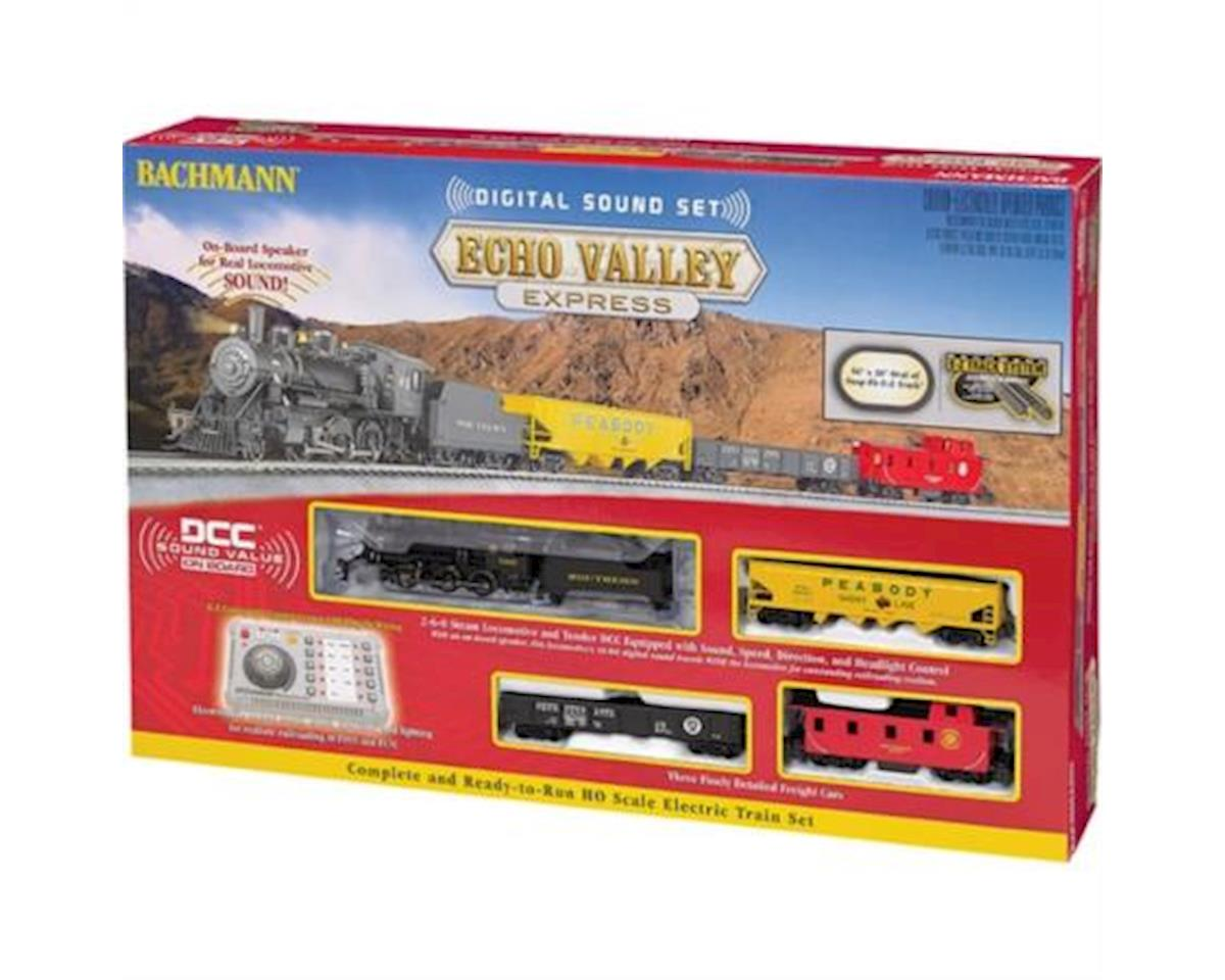 HO  Echo Valley Express Set w/EZ Command Sound by Bachmann