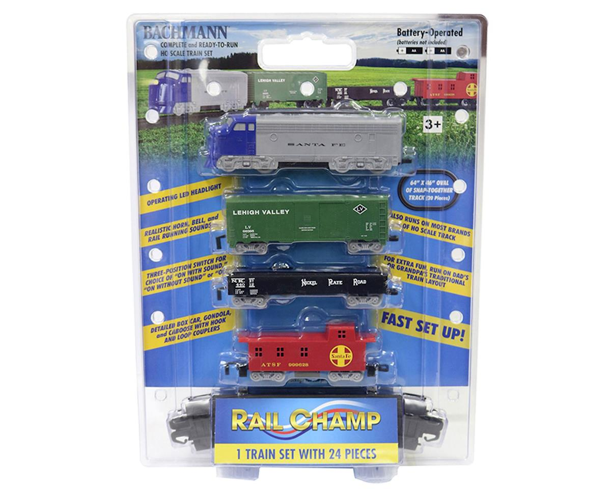 Bachmann HO Battery Operated Rail Champ Train Set
