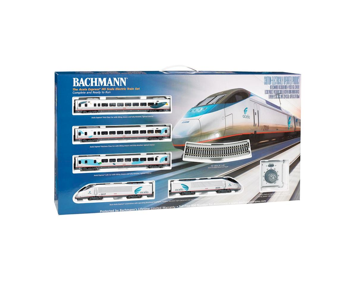 Bachmann HO Spectrum Acela Express Set, Amtrak