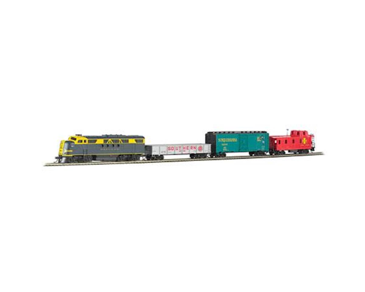 Bachmann HO Blue Lightning Set w/E-Z App Train Control