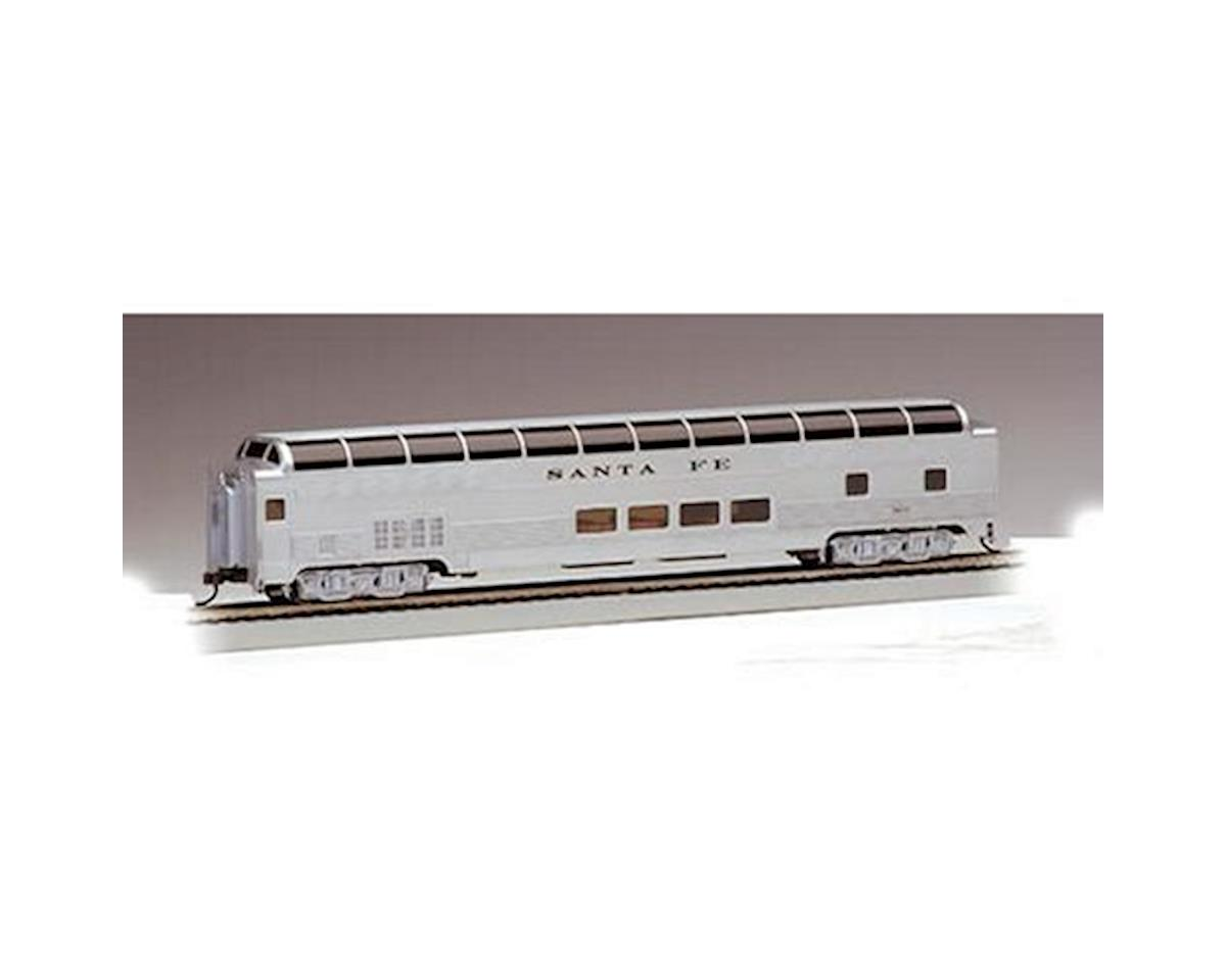 HO RTR SS 85' Budd Full Dome/Lighted, SF by Bachmann