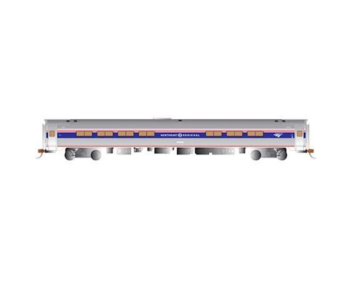 Bachmann Amfleet I Cafe Car- Northeast Regional Ph VI Train (HO Scale)