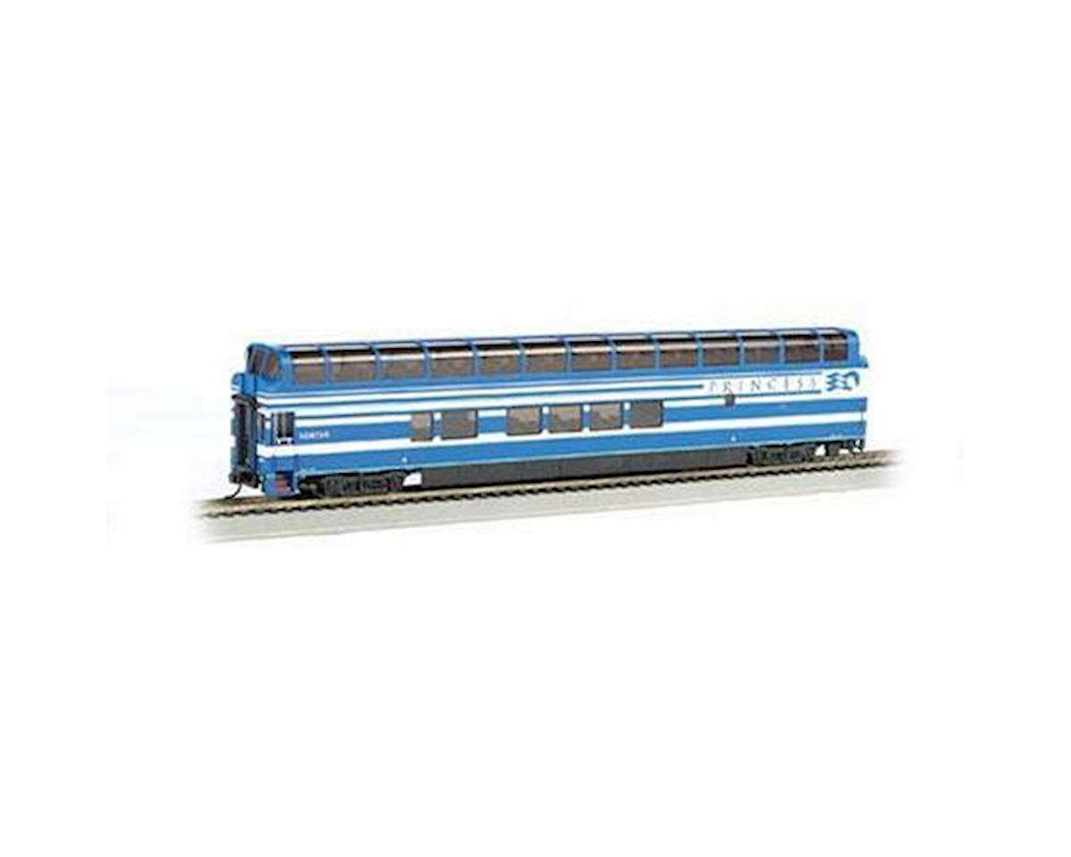 HO 89' Dome, Denali Princess/Hunter A Car by Bachmann
