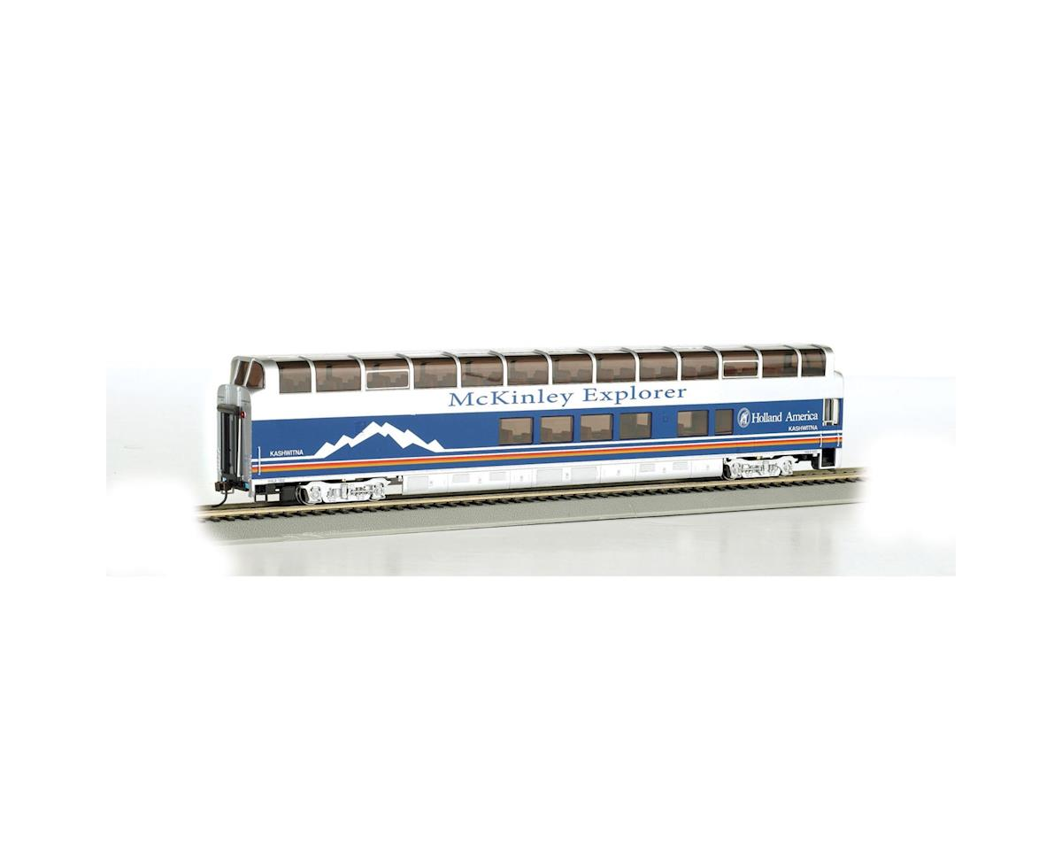 Bachmann HO 89' Dome, Denali Princess/Blackburn A Car