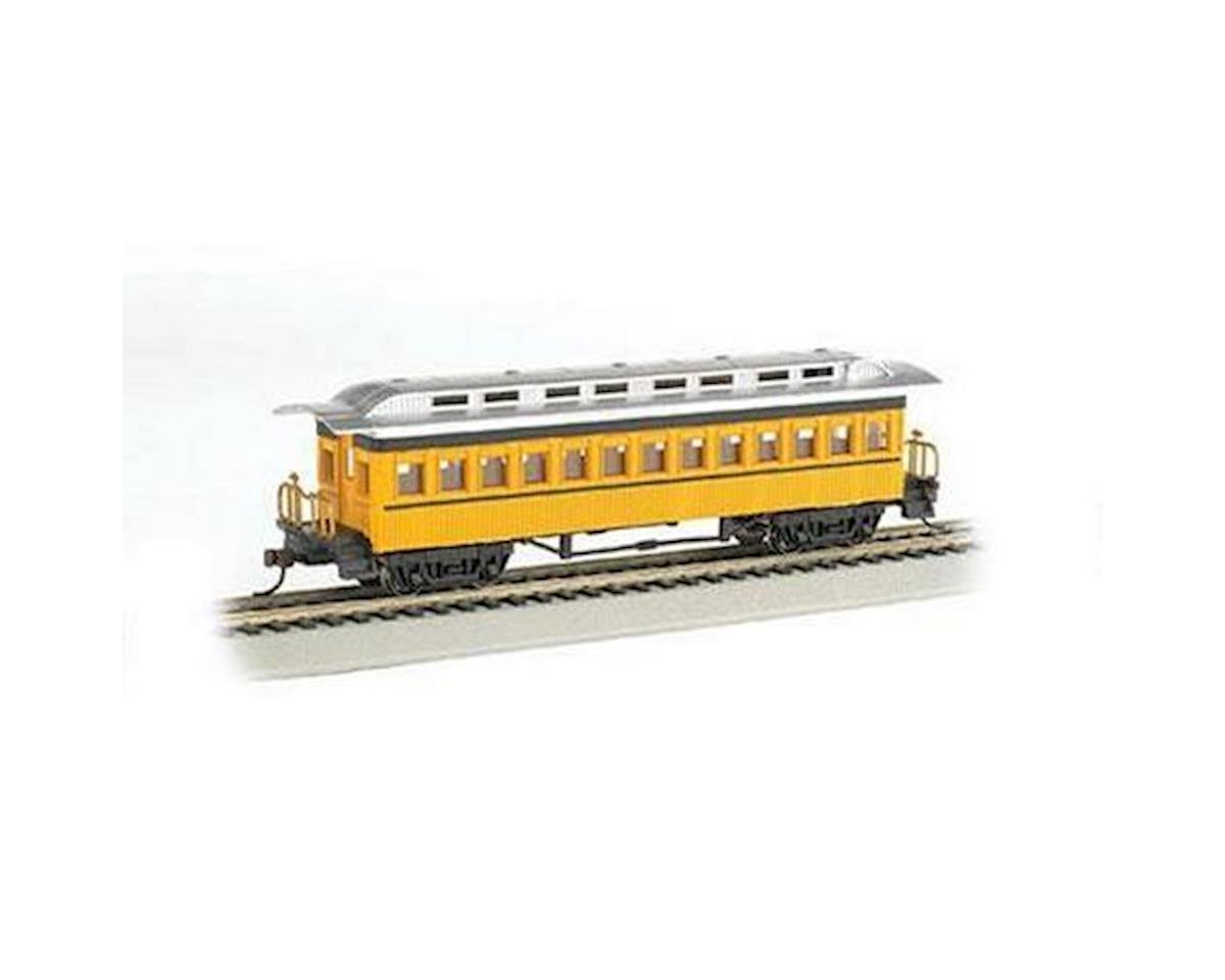 Bachmann HO 1860-1880 Coach, Yellow