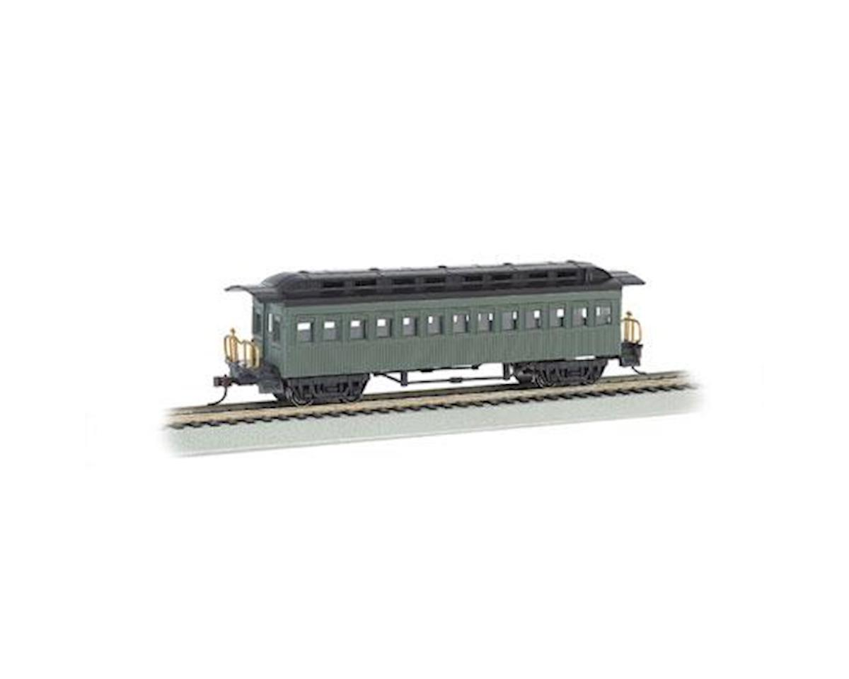 Bachmann HO 1860-1880 Coach, Undecorated/Green
