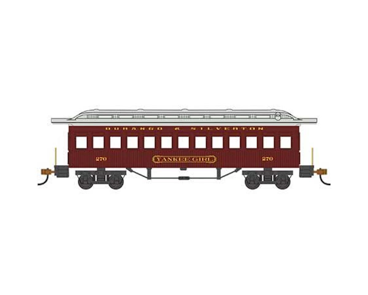 HO 1860-1880 Coach, Durango & Silverton #270 by Bachmann