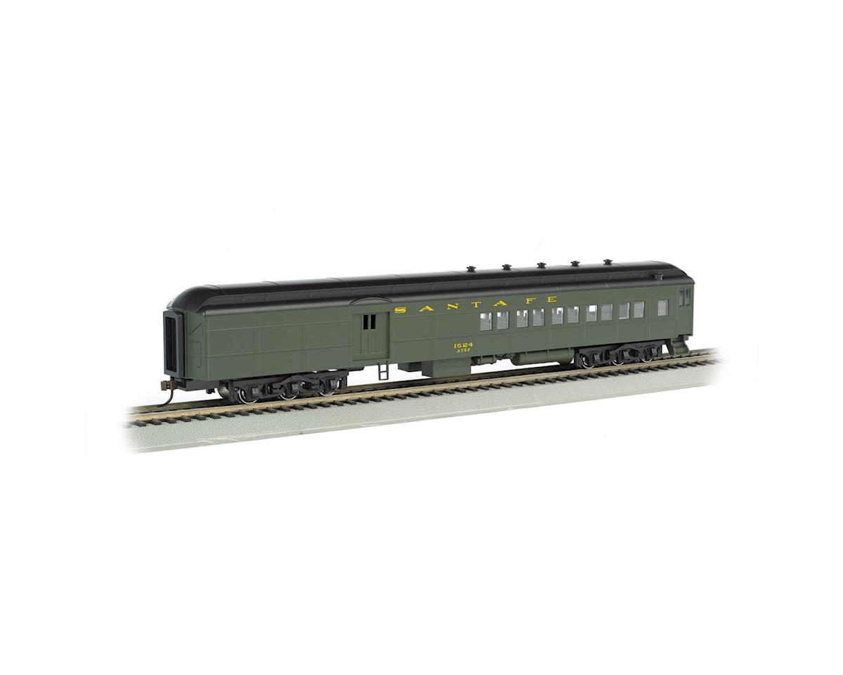 Bachmann HO 72' Heavyweight Combine, SF/Pullman Green
